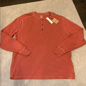 J. Crew Men's Henley Long Sleeve Shirt